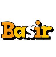 Basir cartoon logo