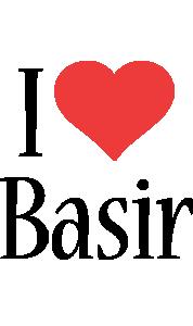 Basir i-love logo