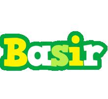 Basir soccer logo