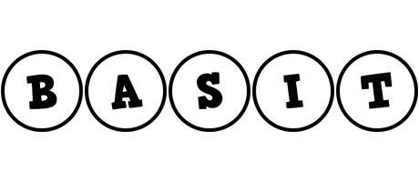 Basit handy logo