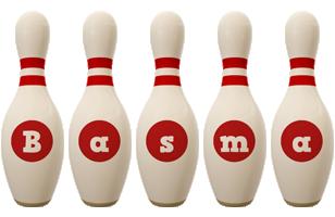 Basma bowling-pin logo