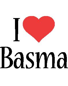 Basma i-love logo
