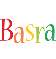 Basra birthday logo