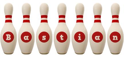 Bastian bowling-pin logo
