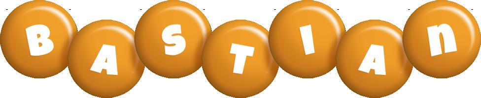 Bastian candy-orange logo