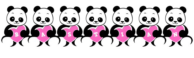 Bastian love-panda logo