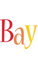 Bay birthday logo