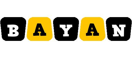 Bayan boots logo