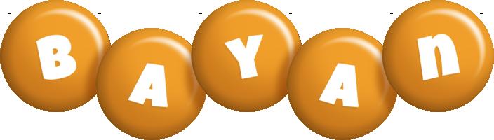 Bayan candy-orange logo