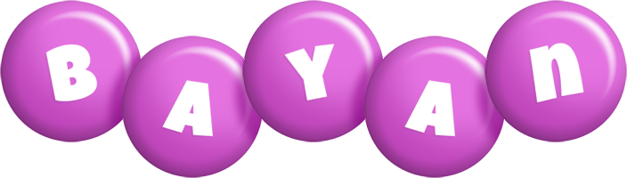 Bayan candy-purple logo