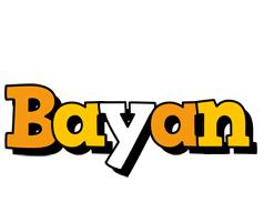 Bayan cartoon logo
