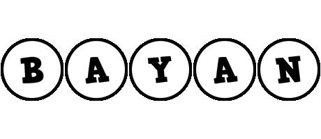 Bayan handy logo