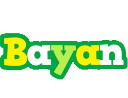 Bayan soccer logo