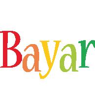 Bayar birthday logo