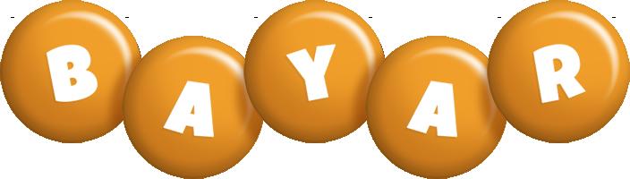 Bayar candy-orange logo