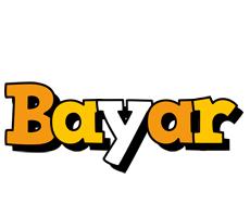 Bayar cartoon logo