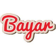 Bayar chocolate logo