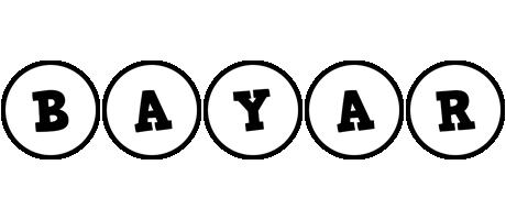 Bayar handy logo
