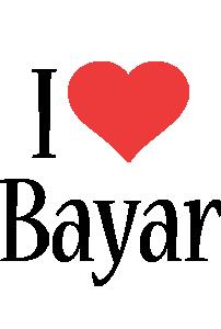 Bayar i-love logo