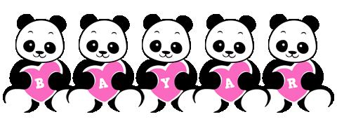 Bayar love-panda logo