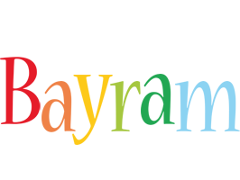Bayram birthday logo