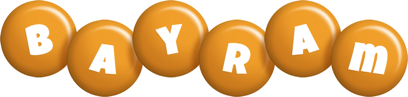 Bayram candy-orange logo