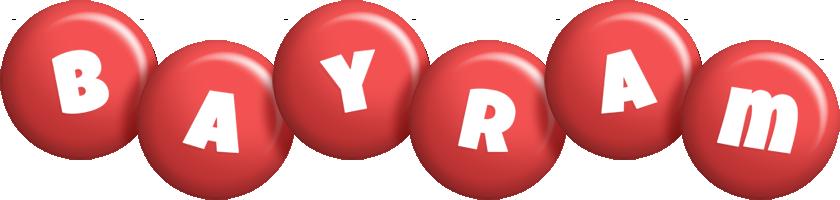 Bayram candy-red logo