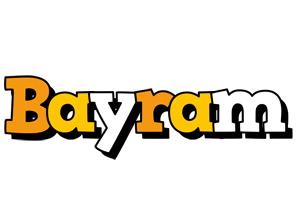 Bayram cartoon logo