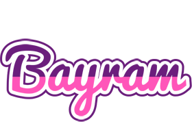 Bayram cheerful logo