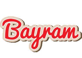 Bayram chocolate logo