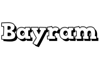 Bayram snowing logo