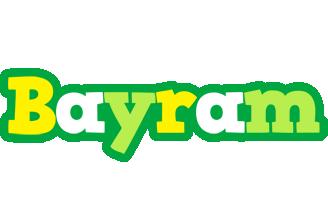 Bayram soccer logo