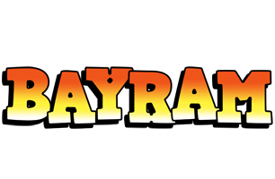 Bayram sunset logo