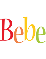 Bebe birthday logo