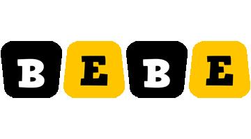 Bebe boots logo