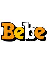 Bebe cartoon logo