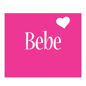 Bebe Logo Name Logo Generator I Love Love Heart