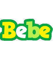 Bebe soccer logo