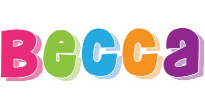Becca friday logo