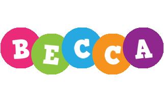 Becca friends logo