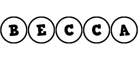Becca handy logo