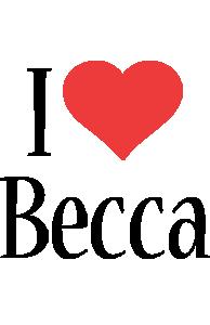 Becca i-love logo