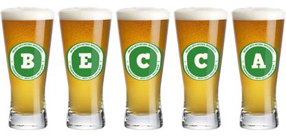 Becca lager logo