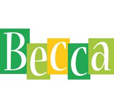 Becca lemonade logo