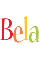 Bela birthday logo