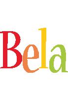 Bela birthday logo