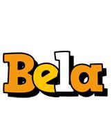 Bela cartoon logo