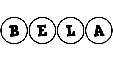 Bela handy logo