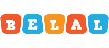 Belal comics logo