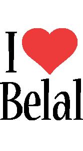 Belal i-love logo